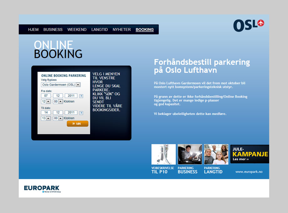 Parkering OSL
