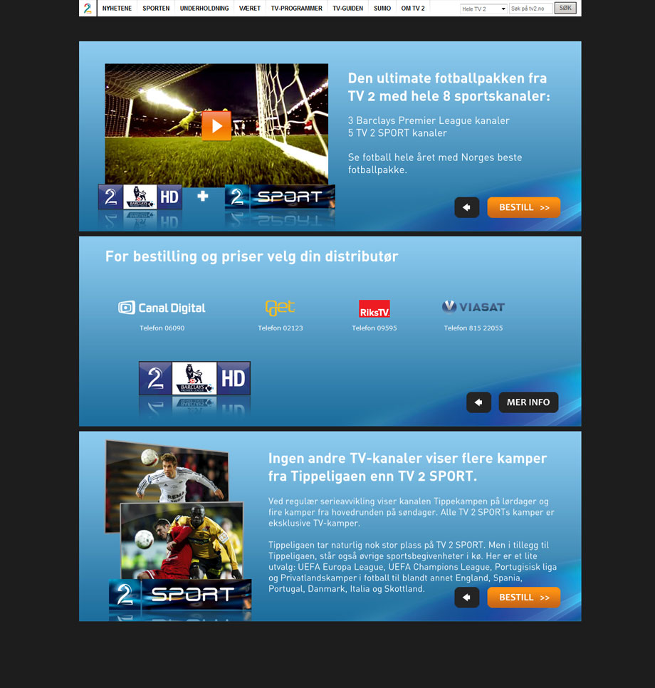 tv 2 fotball